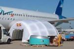 A320发动机移动机库